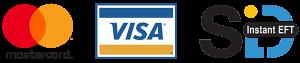 Payment Methods Mastercard Visa SiD
